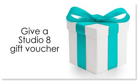 gift voucher studio 8