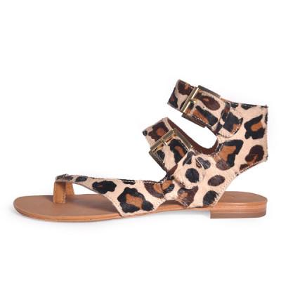 ash print sandal