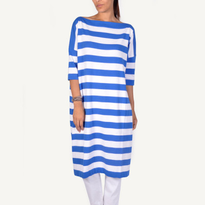 stripe knit dress daniela gregis