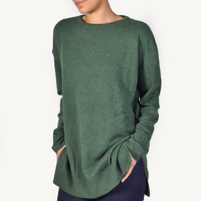 cashmere sweater green