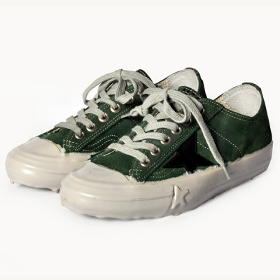 golden goose v star green