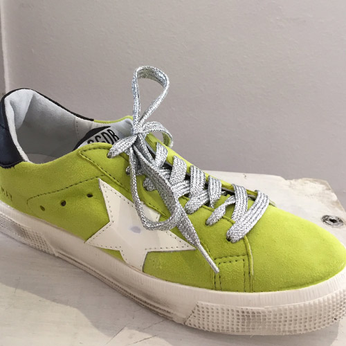 golden goose may green lime